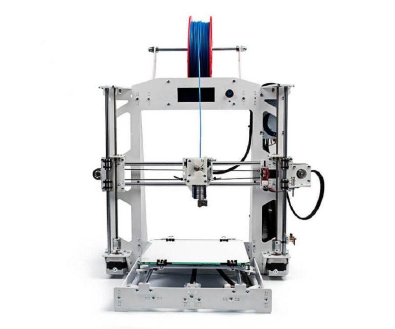 Фото 3D принтера 3DiY (BiZon) Prusa i3 steel 300x300 мм - DIY набор 4