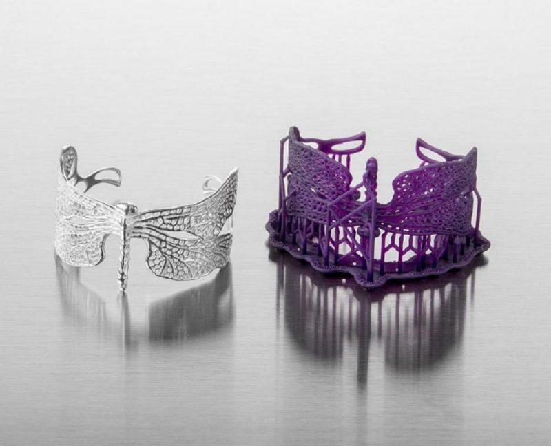 Изображение модели, напечатанной фотополимером Formlabs Castable Wax Resin 1л (3)