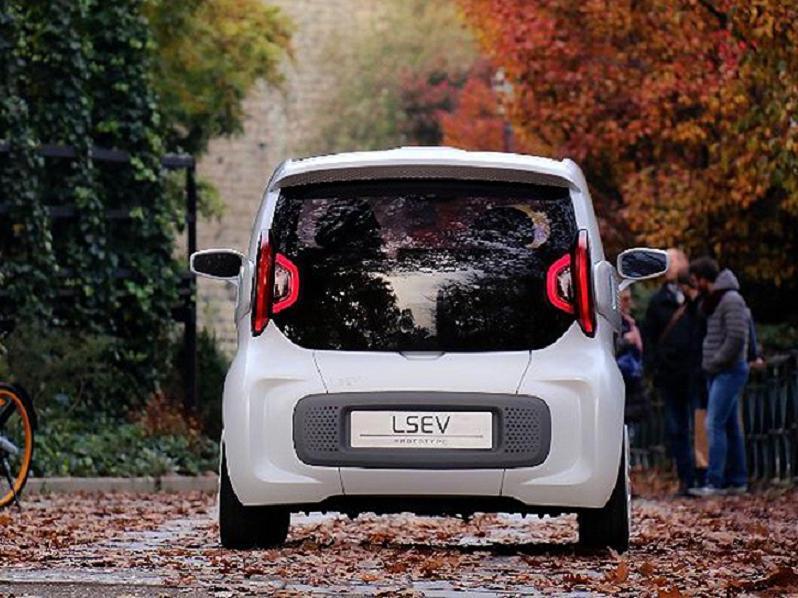 LSEV серийный электромобиль 2