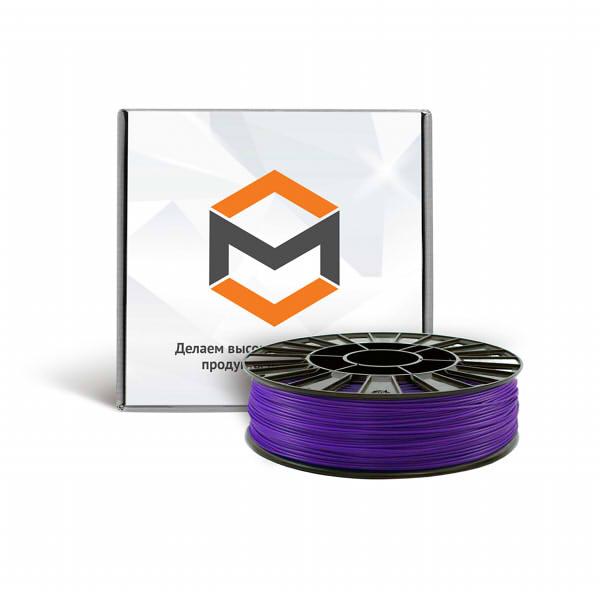 Фото ABS пластика 1,75 мм 3DMall фиолетовый