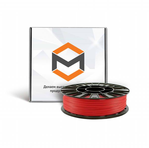 Фото ABS пластика 1,75 мм 3DMall красный
