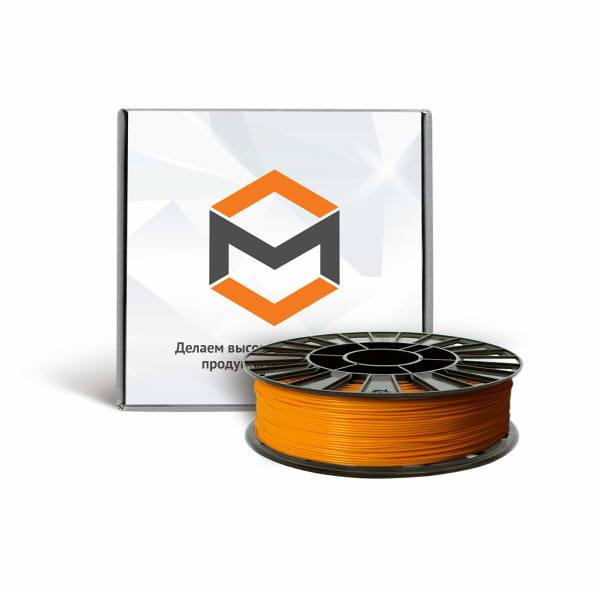 Фото ABS пластика 1,75 мм 3DMall оранжевый