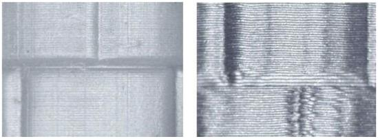 Фото образцов печати Formlabs Form2 и FDM