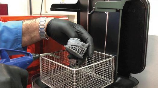 Фото промывки модели