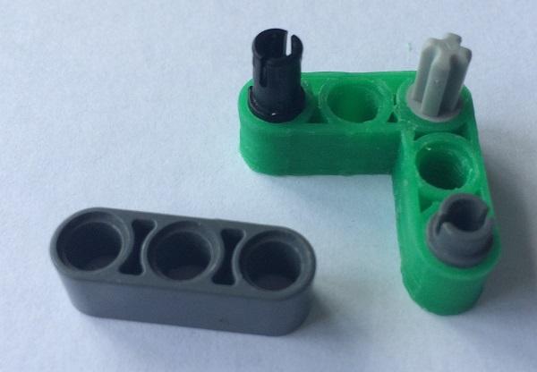 Фото Печать деталей LEGO на 3D принтере 3