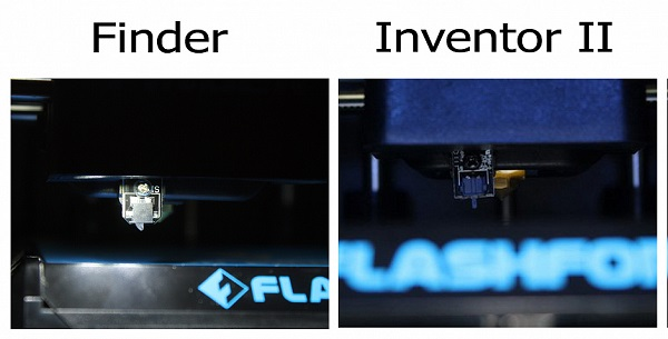 Обзор Flashforge Finder vs Flashforge Inventor II 5