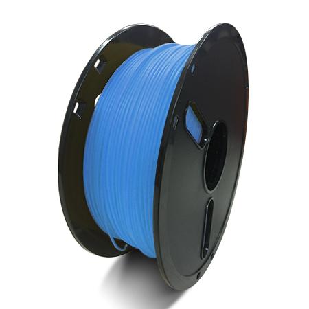 Фото нити для 3D принтера PLA-пластик Raise3D Premium, 1.75 мм, 1 кг, прозрачно-синий