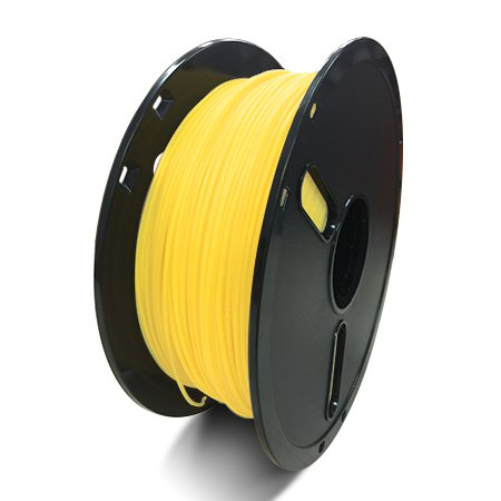 Фото нити для 3D принтера PLA-пластик Raise3D Premium, 1.75 мм, 1 кг, прозрачно-желтый