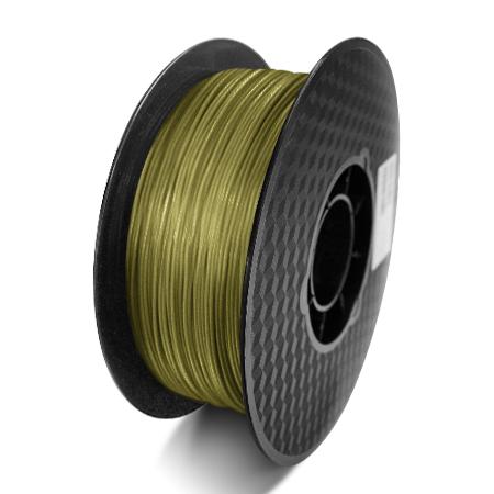 Фото нити для 3D принтера PLA-пластик Raise3D Standard, 1.75 мм, 1 кг, бронзовый