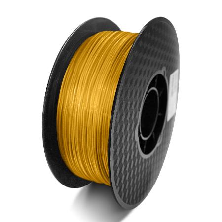 Фото нити для 3D принтера PLA-пластик Raise3D Standard, 1.75 мм, 1 кг, золотой