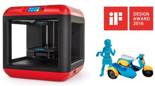 Фото 3D принтера FlashForge Finder 6