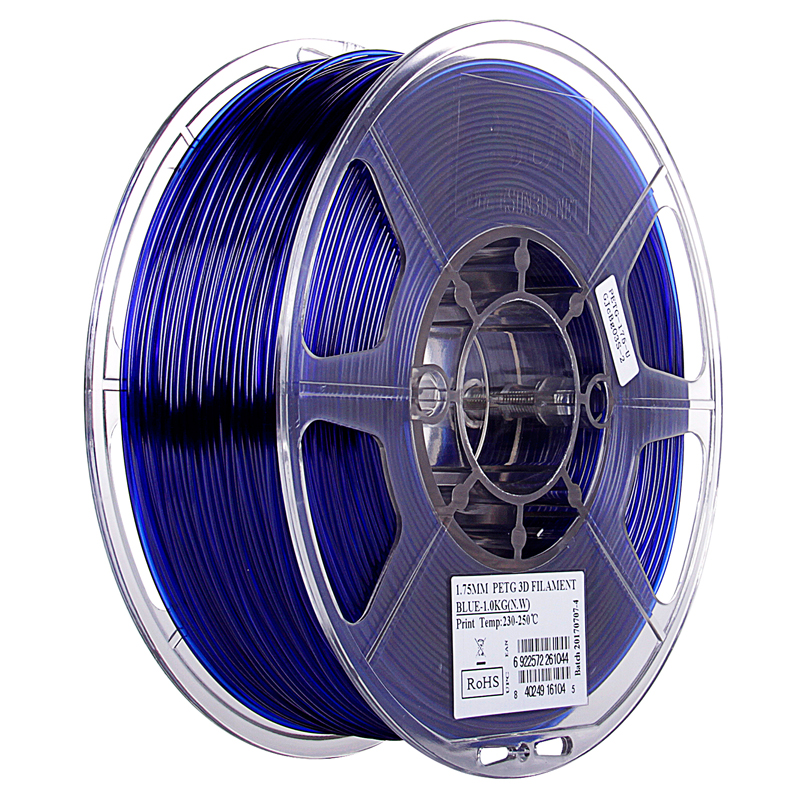 Фото PETG-пластика ESUN 1.75 мм 1кг., синий 1