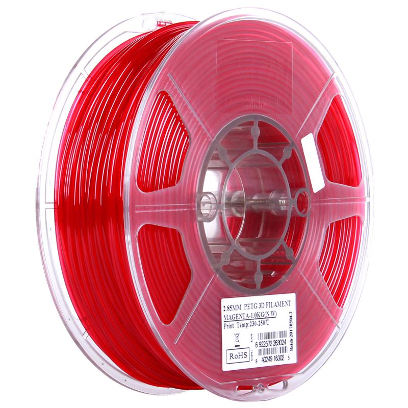 Фото PETG-пластика ESUN 1.75 мм 1кг., красный 1