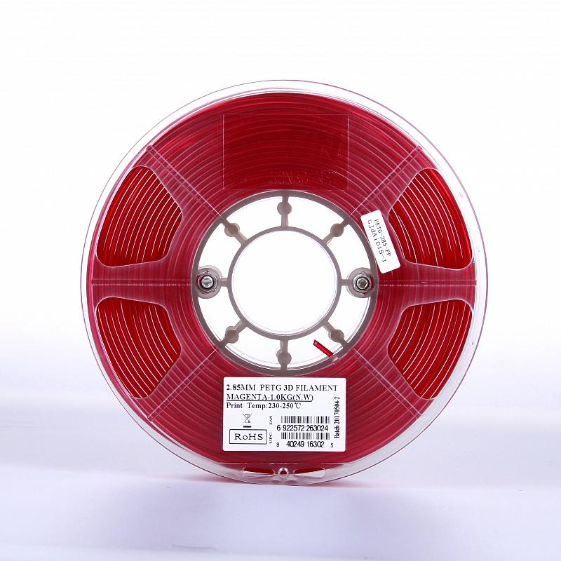 Фото PETG-пластика ESUN 1.75 мм 1кг., красный 3