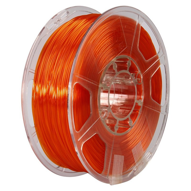 Фото PETG-пластика ESUN 1.75 мм 1кг., оранжевый 1