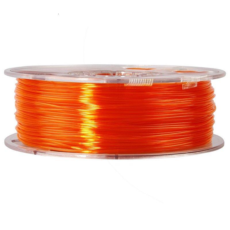 Фото PETG-пластика ESUN 1.75 мм 1кг., оранжевый 2