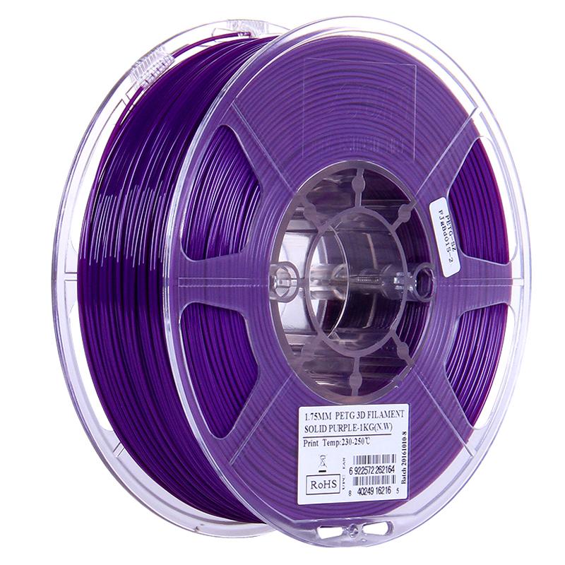 Фото PETG-пластика ESUN 1.75 мм 1кг., пурпурный 1
