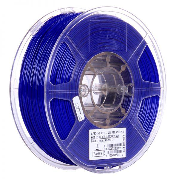 Фото PETG-пластика ESUN 1.75 мм 1кг., сапфировый 1