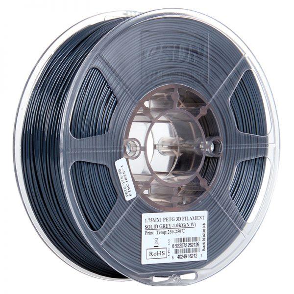 Фото PETG-пластика ESUN 1.75 мм 1кг., серый 1