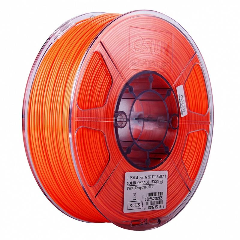 PETG-пластика ESUN 1.75 мм 1кг., ярко-оранжевый 1