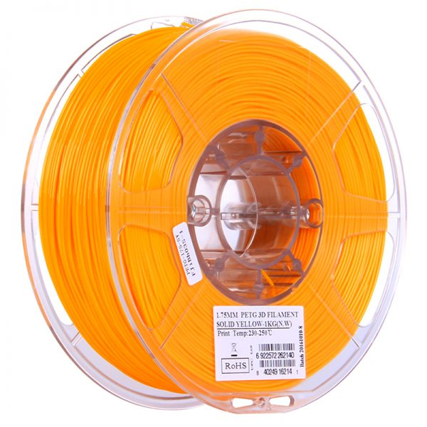 Фото PETG-пластика ESUN 1.75 мм 1кг., ярко-желтый 1
