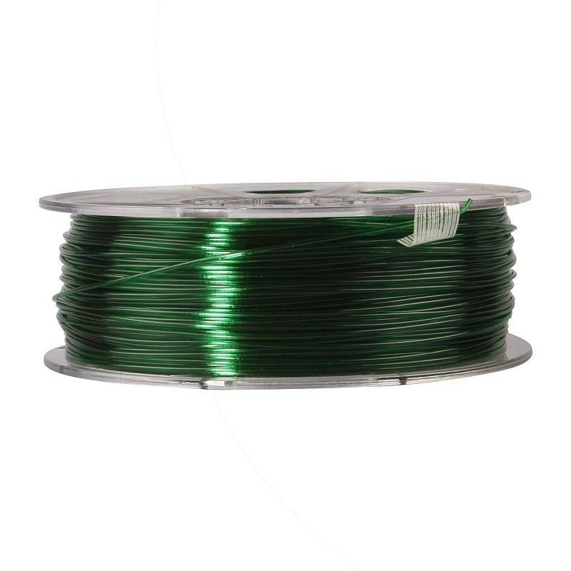 Фото PETG-пластика ESUN 1.75 мм 1кг., зелёный 2
