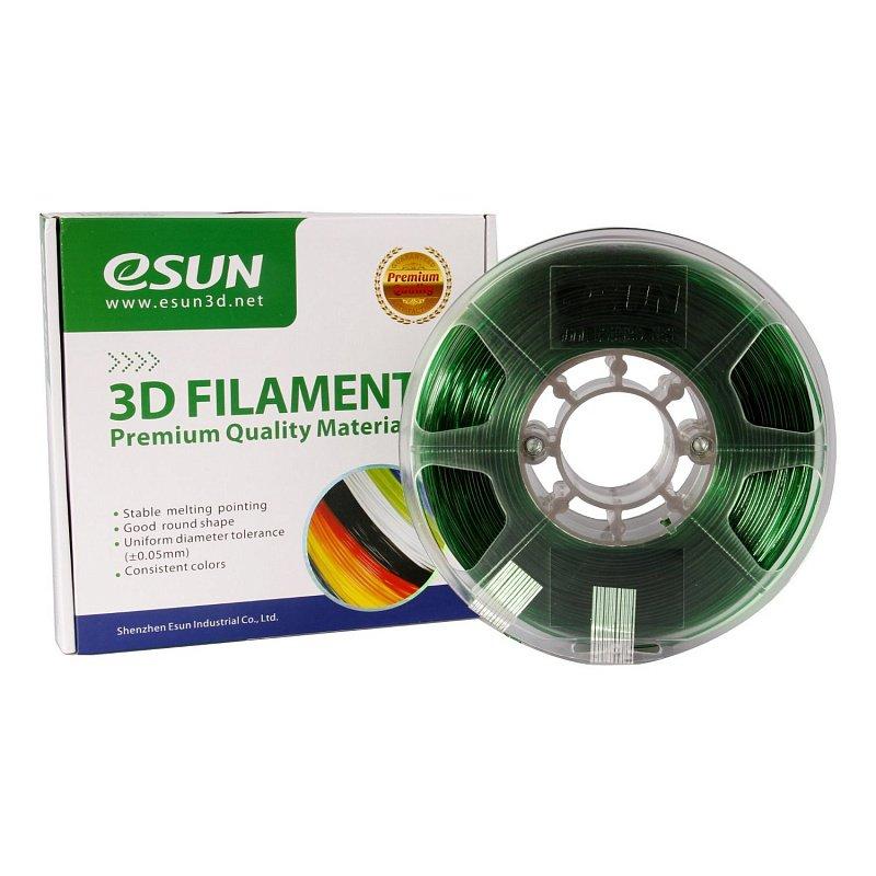 Фото PETG-пластика ESUN 1.75 мм 1кг., зелёный 3