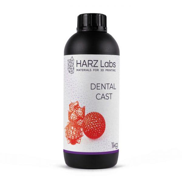 Фото фотополимера HARZ Labs Dental Cast LCD/DLP 1 л красный
