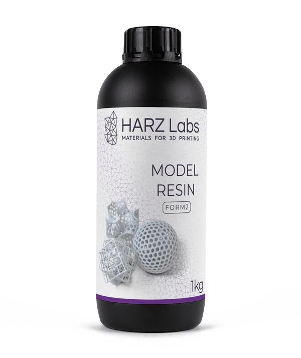 Фото фотополимера HARZ Labs Model SLA/Form-2 1 л белый