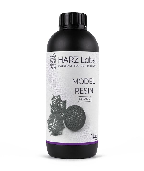 Фото фотополимера HARZ Labs Model SLA/Form-2 1 л серый