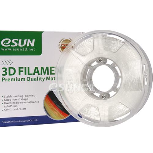 Фото eFlex-пластика TPU ESUN 1.75 мм 1кг., натуральный 1