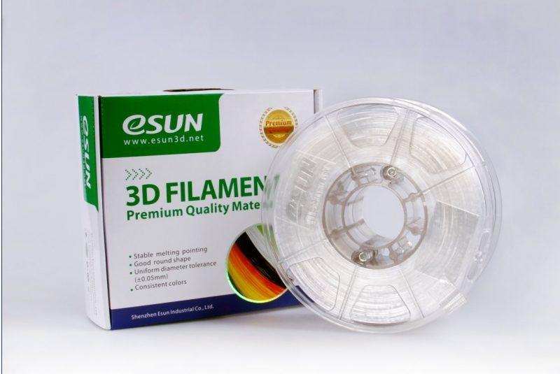 Фото ESUN Polycarbonate натуральный 1.75 мм 0,5 кг 1