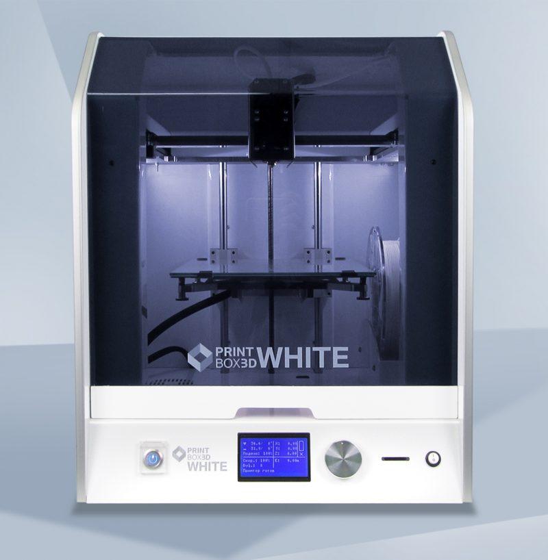 Фото 3D принтера PrintBox3D White 1