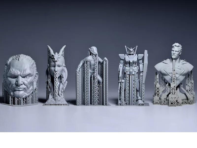 Изображение модели, напечатанной на 3D принтере Phrozen Shuffle XL (1)