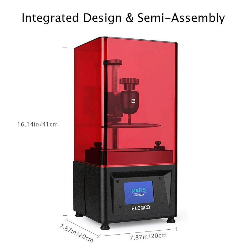 Фото 3D принтера Elegoo Mars UV Photocuring LCD 2