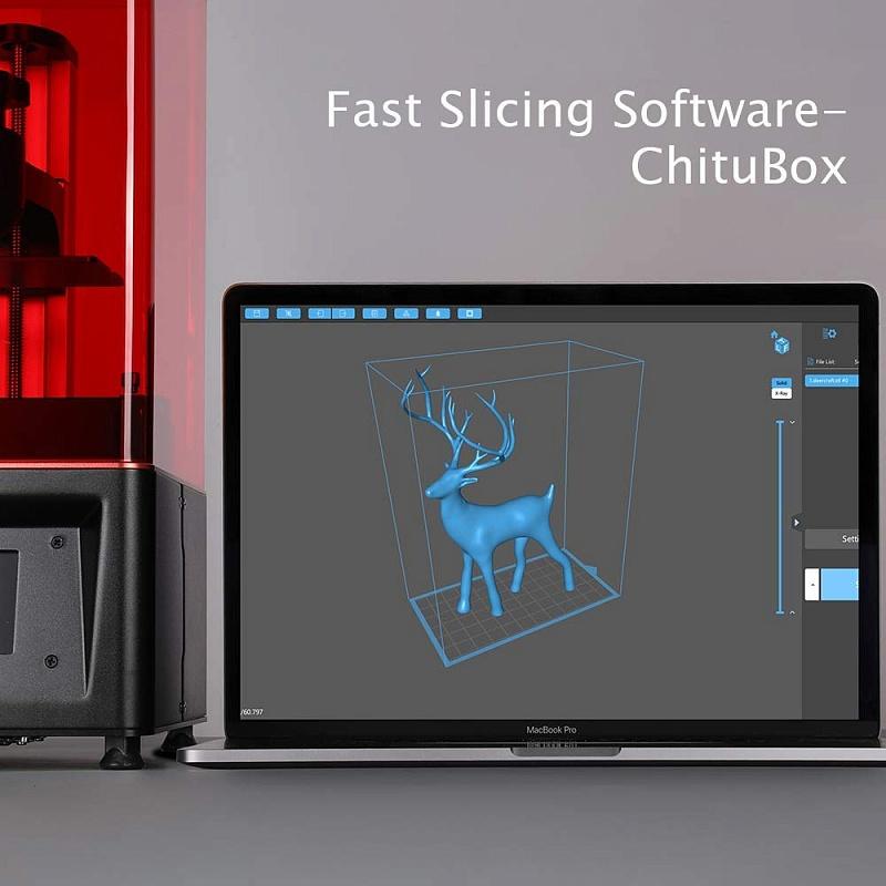 Фото 3D принтера Elegoo Mars UV Photocuring LCD 6