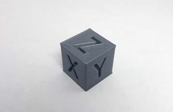 Фото модели для калибровки 3D-принтера 1