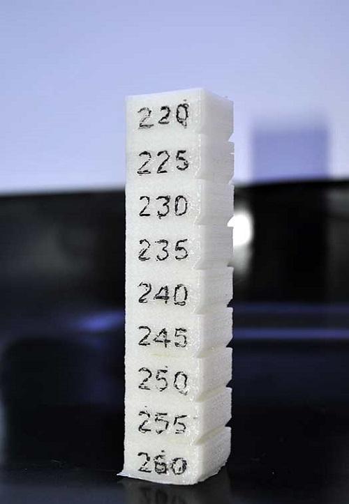 Фото модели для калибровки 3D-принтера 8