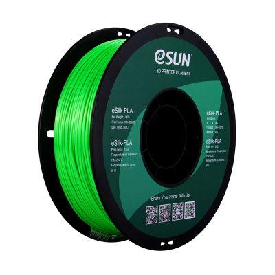 Фото нити для 3D печати eSUN eSilk - шёлковый PLA 6