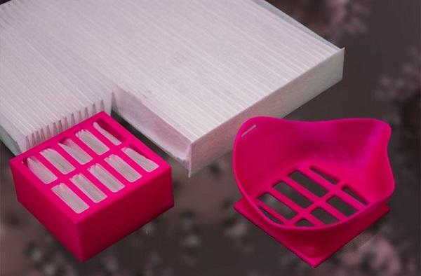 Фото3d печать макси от коронавируса 3dmall 1