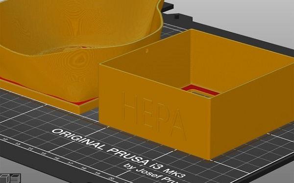 Фото 3d печать макси от коронавируса 3dmall 2