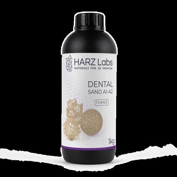Фото Фотополимер HARZ Labs Dental Sand Form2 1 кг 1