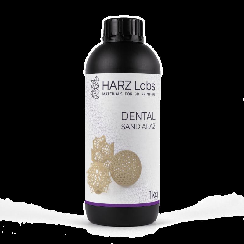 Фото Фотополимер HARZ Labs Dental Sand 1 кг 3