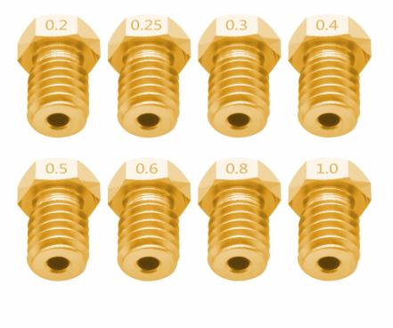 Фото сопла для 3D-принтера V5 V6 M6 1
