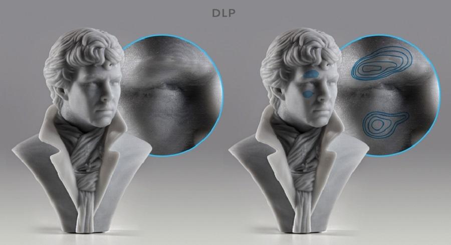 Фото Технологии печати SLA и DLP: чем отличаются, достоинства и недостатки 4