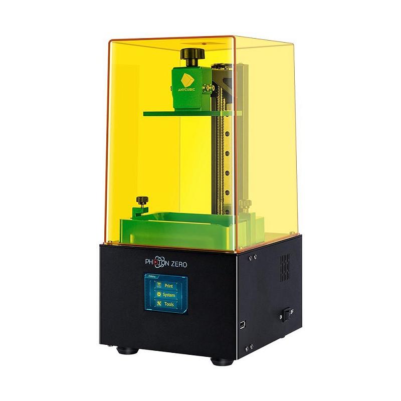 Фото 3D принтер Anycubic Photon Zero + Устройство 2в1 для УЗ-очистки и УФ-отверждения моделей Anycubic Wash 3