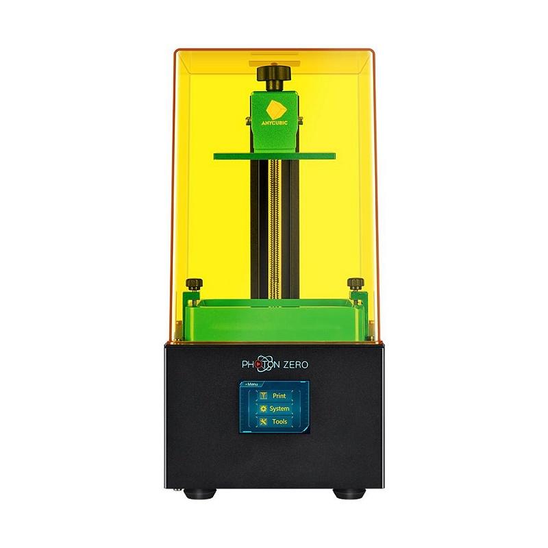 Фото 3D принтер Anycubic Photon Zero + Устройство 2в1 для УЗ-очистки и УФ-отверждения моделей Anycubic Wash 4