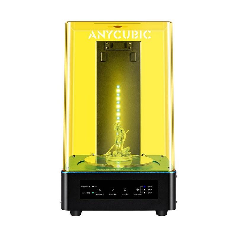 Фото 3D принтер Anycubic Photon Zero + Устройство 2в1 для УЗ-очистки и УФ-отверждения моделей Anycubic Wash 6