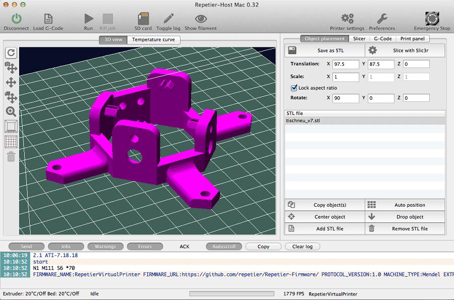Фото Обзор слайсеров для 3Д печати 14