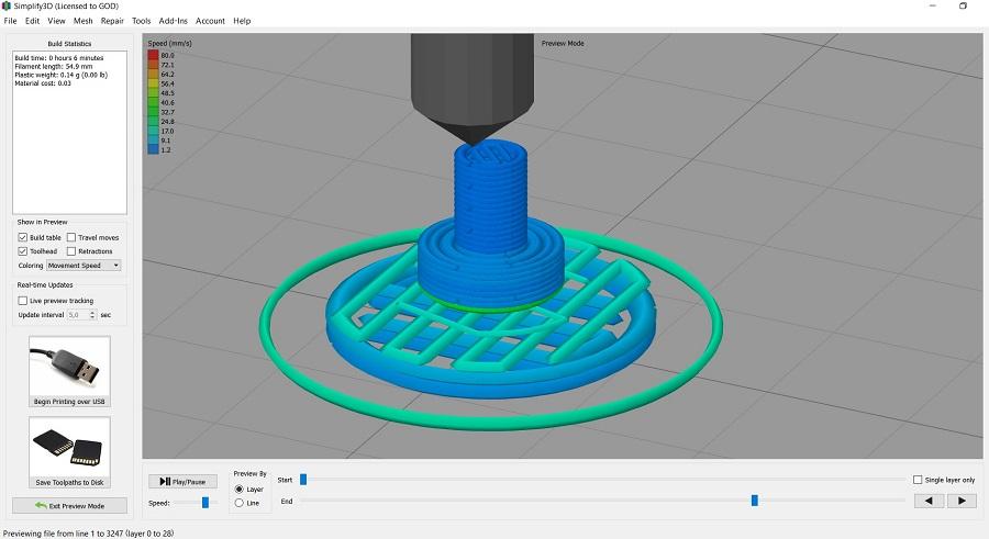 Фото Обзор слайсеров для 3Д печати 4